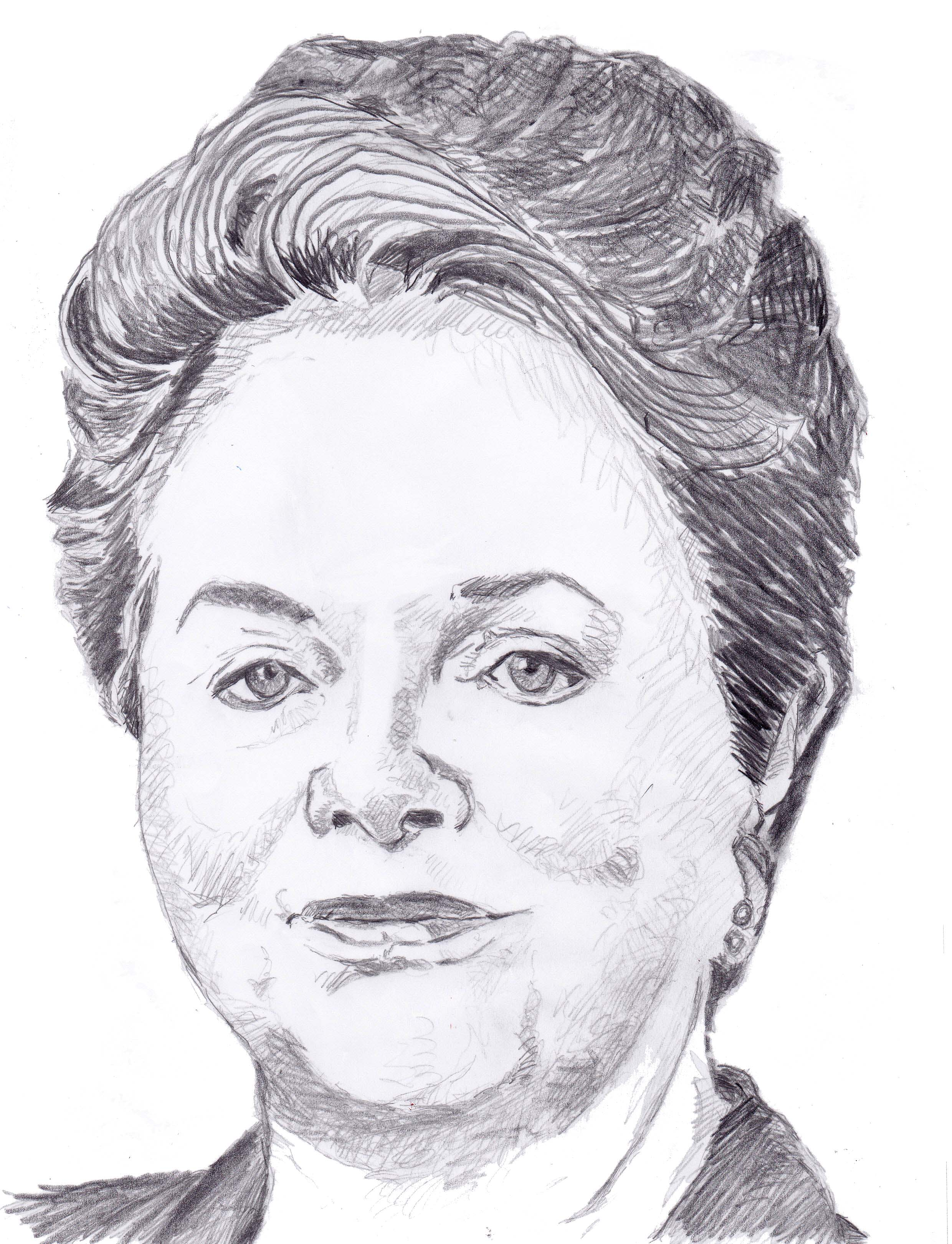 Dilma Rousseff. Crédit Muriel Epailly.