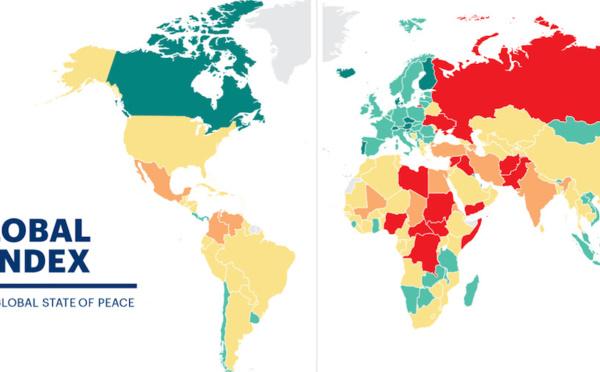 Global Peace Index : état des lieux du pacifisme en Europe, au Moyen-Orient et en Afrique