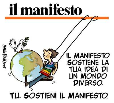 Les associations Les GARIBALDIENS et Carlo GIULIANI vous invitent à un repas de soutien pour le journal Il MANIFESTO.