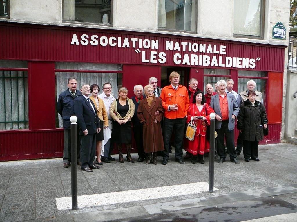 Allocution à l'occasion du repas du 11 novembre 2006 au local des Garibaldiens.