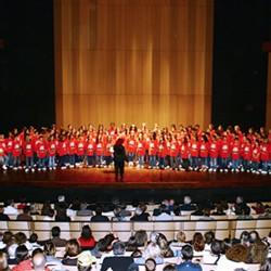 A Nice, les enfants chantent Garibaldi