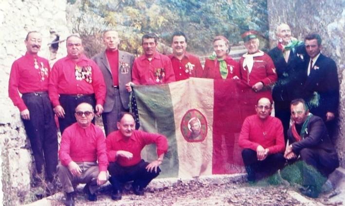 Qui sont les amis de Jean GIORGIS, Garibaldien Niçois pendant la dernière guerre ?
