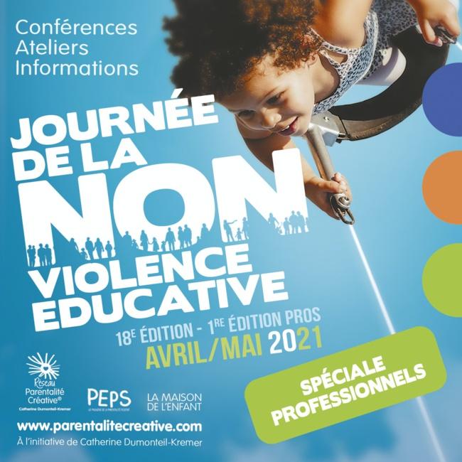 Le 30 avril 2021 c'est la 18ème journée de la non violence éducative