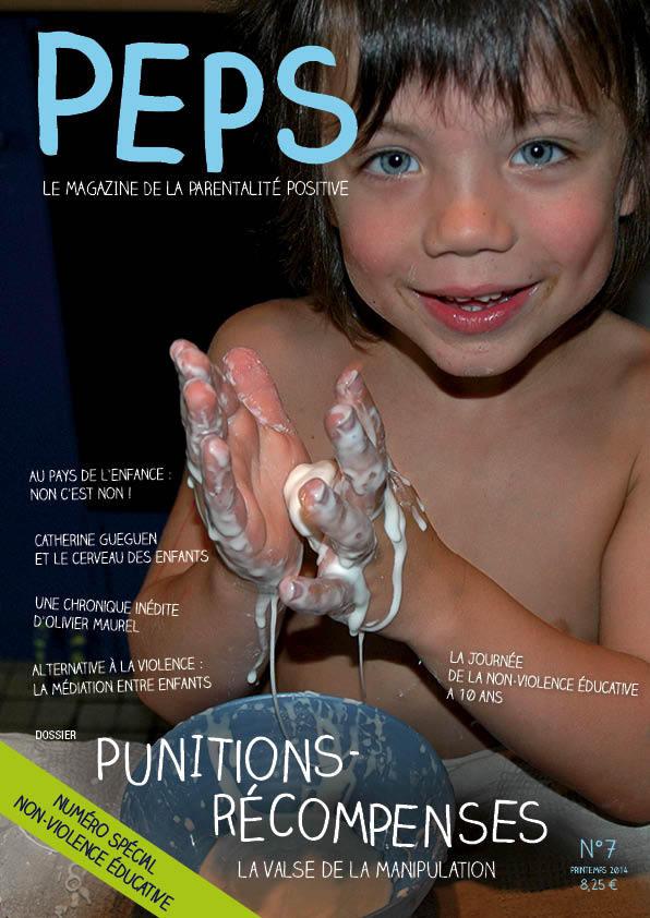 Retrouvez le 7ème numéro de Peps spécial non-violence éducative