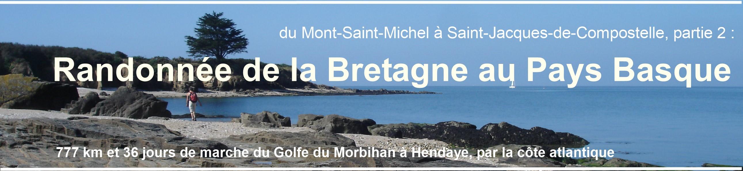 deuxième partie de la randonnée commencée au Mont-Saint-Michel :