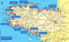 Carte de la randonnée