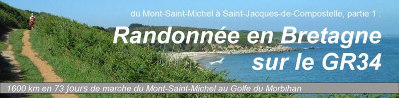 Carte Bretagne Randonnee.Randonnee En Bretagne Sur Le Sentier Gr34