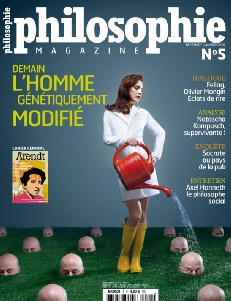 Couverture de Philosophie Magazine
