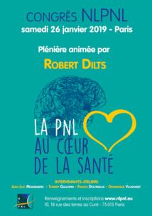 """Congrès de NLPNL ce week-end à Paris """"La PNL au coeur de la Santé"""""""
