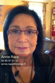 Dr. Annie Rapp. Consultations au cabinet et Téléconsultation
