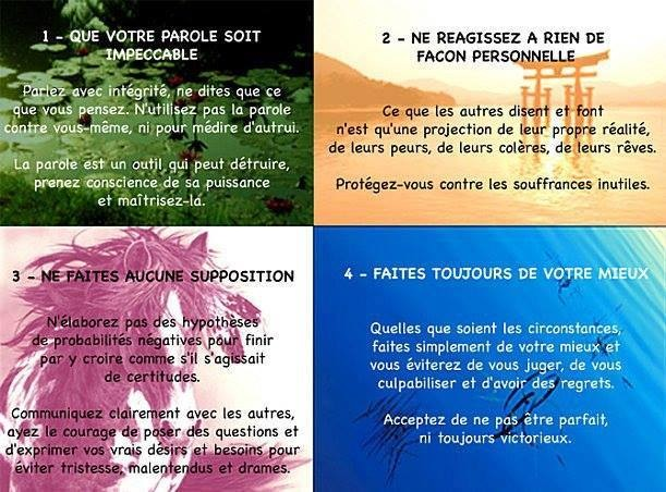 Les 4 accords Toltèques
