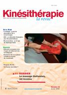 Kinésithérapie, la revue