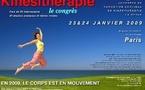 Deuxièmes Journées Francophones de Kinésithérapie des 23-24 janvier 2009 à Paris