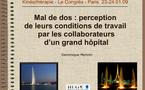 JFK2009: Conférences sélectionnées suite à l'appel à communications en ligne. Thème 5 : Kinésithérapie musculo-squelettique