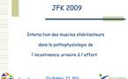 JFK2009: Conférences invitées. Thème 10 : Techniques spécifiques