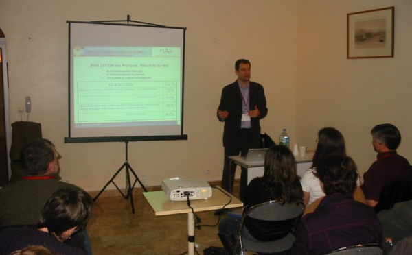 JFK2007: Atelier Evaluation des pratiques professionnelles en kinésithérapie