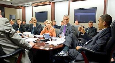 """Résultat de recherche d'images pour """"Obama sur la photo de la « situation room » pendant l'élimination de beb laden"""""""