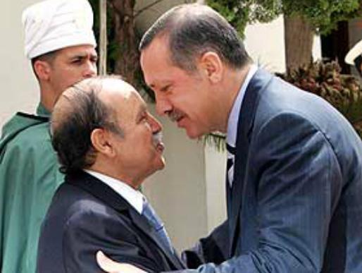 Le président algérien Bouteflika avec le premier ministre turc Erdogan (PH/DR)
