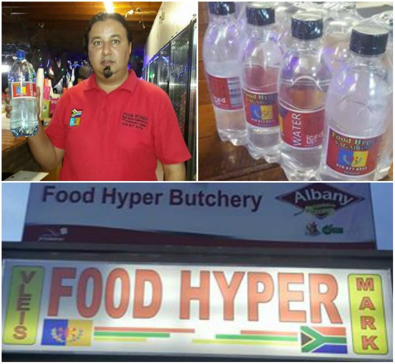 Afrique du Sud : De l'eau minérale aux couleurs nationales kabyles