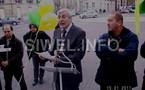 Rassemblement kabyle devant l'Ambassade d'Algérie à Paris