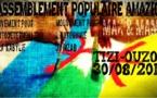 Appel à un rassemblement le 30 août à Tizi-Ouzou (Déclaration commune du MAK et du MAM)