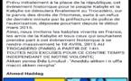 URGENT: Changement de lieu pour le lever du drapeau Kabyle dans la diaspora parisienne suite à un refus tardif de la préfecture de police