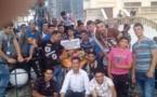 La jeunesse kabyle de Saharidj érige une stèle à la mémoire des victimes du terrorisme islamiste