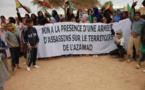 Rassemblement de solidarité avec les populations de l'Azawad