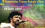 Dimanche 28 juin: L'association Franco-Kabyle d'Ivry sur Seine rend hommage à Matoub Lounès
