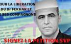 Pétition: Libérez le Dr Fekhar et ses codetenus