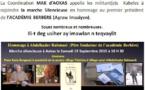 Marche silencieuse en hommage à Abdelkader Rahmani, Ier président de l'Académie berbère :  La Coordination MAK d'Aokas appelle à la mobilisation
