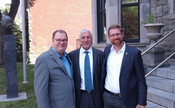 Québec-Kabylie : Le président Ferhat Mehenni accueilli par deux députés québécois