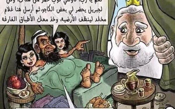 L'écrivain jordanien Nahed Hattar assassiné pour une caricature anti-jihadiste