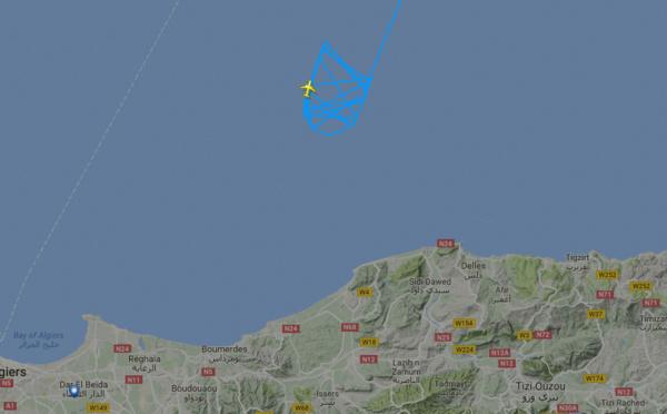 Un avion d'Air France disparu des radars de l'aéroport d'Alger atterrit avec une heure de retard