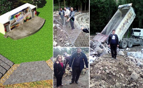 Le théâtre de verdure d'At Ɛisa (Aokas), la genèse d'un projet qui va en inspirer plus d'un (photos)