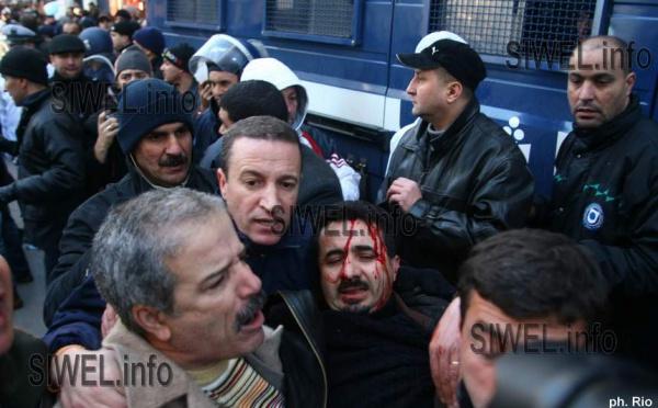La marche du RCD à Alger avortée