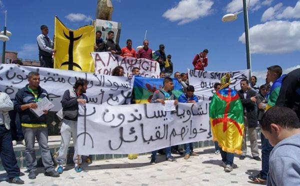 Rassemblement des Chawis à Bathent (Aurès) en soutien aux Kabyles lynchés par la police algérienne (photos)