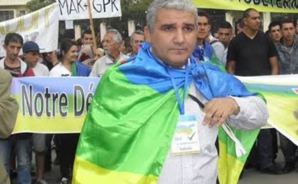 Le président du MAK dénonce l'enlèvement d'un ressortissant français et appelle le peuple kabyle à l'extrême vigilance