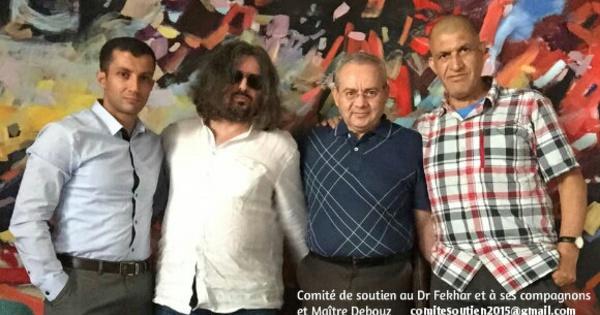 Le comité de soutien du dr Fekhar et ses compagnons rencontre Maître Debouz