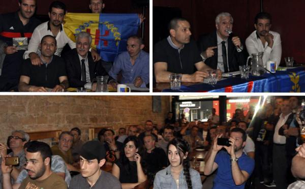 Retour sur la conférence de Ferhat Mehenni à Lyon le 11 juin (Vidéo)