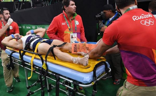 Samir Aït-Saïd quitte les JO de Rio suite à une grave blessure