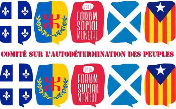 L'indépendance de la Kabylie au Forum Social Mondial 2016 à Montréal