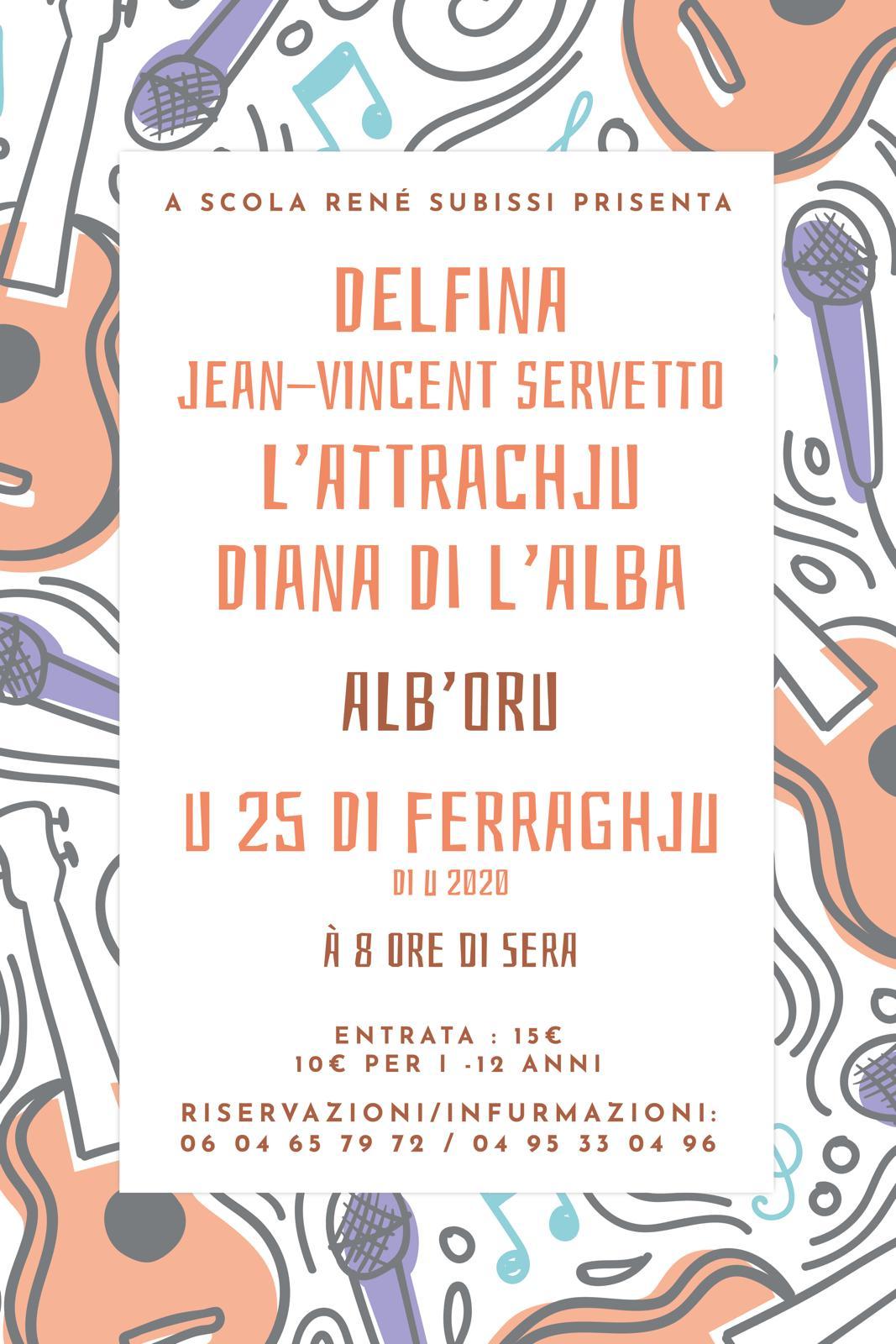 CUNCERTU ALB'ORU MARTI 25/02/2020