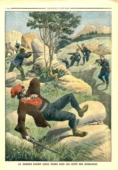 Bandits corses : honneur et dignité. Ouvrage d'Elie Papadacci.